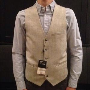 NWT grey Topshop vest